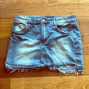 A Jean skirt